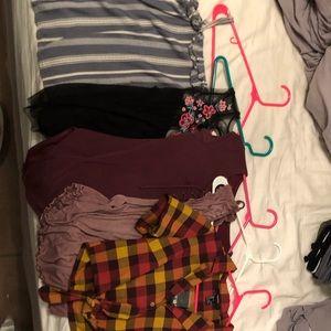 Bundle of shirts